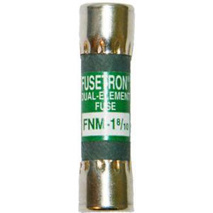 Bussmann FNM-1-8/10 Fusetron® Midget Time-Delay Fuse; 1-8/10 Amp, 250 Volt AC