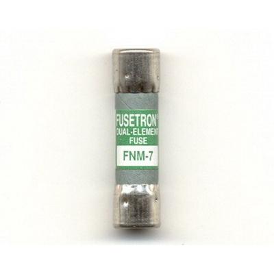 Bussmann FNM-7 Fusetron® CC-Tron® Midget Time-Delay Fuse; 7 Amp, 250 Volt AC