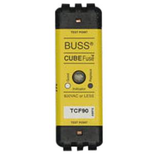 Bussmann TCF90 Low-Peak® CubeFuse® Class J Time-Delay Fuse; 90 Amp, 600 Volt AC/300 Volt DC