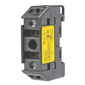 Bussmann TCFH60N Finger Safe Fuse Holder; 60 Amp, 600 Volt AC/300 Volt DC, DIN-Rail Mounting