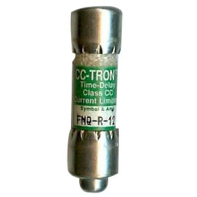 Bussmann FNQ-R-12 Limitron® Class CC FNQ-R Time-Delay Fuse; Rejection-Type Fuse, 12 Amp, 600 Volt AC