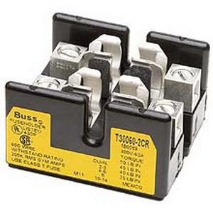 Bussmann T30060-2CR T300 Series Fuse Block; 31 - 60 Amp, 300 Volt