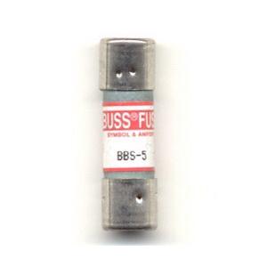 Bussmann BBS-5 Fast-Acting Fuse; 5 Amp, 600 Volt AC