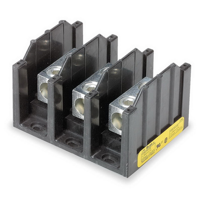 Power Terminal Block : Bussmann terminal block volt ac dc amp