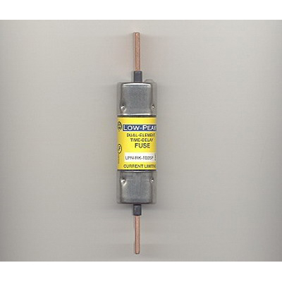 Bussmann LPN-RK-100SP Low-Peak® Class RK1 Time-Delay Blade Fuse; 100 Amp, 250 Volt AC/DC
