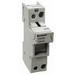 Bussmann CH141BI Modular Fuse Holder; 50 Amp, 750 Volt AC (UL), 690 Volt AC (IEC), DIN-Rail Mounting