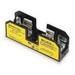 Bussmann BM6031SQ BM Series Supplementary Fuse Block; 1/10 - 30 Amp, 600 Volt AC, DIN-Rail Mounting
