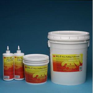 3M WL-QT Wire Pulling Lubricant Gel; 1 qt, Bottle, Translucent White