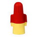 3M R/Y+JUG Twist-On Performance Plus Wire Connector; 22-8 AWG, Red/Yellow