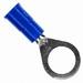 3M MVU14-516R/SK Scotchlok™ Standard Vinyl Insulated Ring Terminal; 16-14 AWG, 5/16 Inch Stud, ETP Copper, Blue, 1000/BX