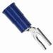 3M MVU14-8FLK Scotchlok™ Vinyl Insulated Locking Fork Terminal; 16-14 AWG, #8 Stud, Blue, 1000/BX