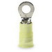 3M MNG10-516R/SK Scotchlok™ Standard Nylon Insulated Ring Terminal; 12-10 AWG, 5/16 Inch Stud, ETP Copper, Yellow, 500/BX
