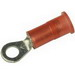 3M MNG18-10R/LK Scotchlok™ Standard Nylon Insulated Ring Terminal; 22-18 AWG, #10 Stud, ETP Copper, Red, 1000/BX