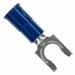 3M MVU14-10FLK Scotchlok™ Vinyl Insulated Locking Fork Terminal; 16-14 AWG, #10 Stud, Blue, 1000/BX