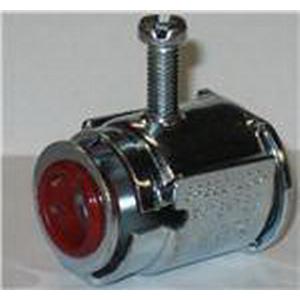 AFC Cable AFC5075 Flexible Metal Conduit Connector; 1/2 Inch, Steel/Aluminum