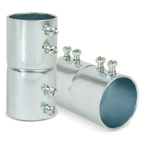 AFC Cable SK125 EMT Set Screw Coupling; 1-1/4 Inch, Steel