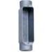 BWF/Teddico 304-CG Type C Conduit Body Assembly; 1-1/2 Inch, Die-Cast Aluminum, Gray