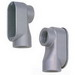 BWF/Teddico 505V Type SLB Entrance Elbow; 2 Inch, Threaded, Aluminum, Gray