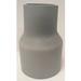 Cantex 5142102 SCH 40 Swedged Reducer; 2-1/2 Inch x 2 Inch, Belled x Spigot, 6.625 Inch Length, PVC