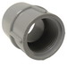 Cantex 5140050 SCH 40/80 Adapter; 3-8, FNPT, Rigid PVC