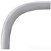 Cantex 5133848 SCH 40 90 Degree Elbow; 2 Inch, Plain, 55 Inch Length, Rigid PVC