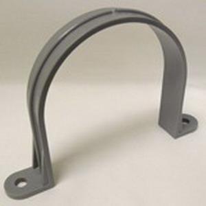 Cantex 5133736 SCH 40/80 Two Hole Pipe Strap; 1/2 Inch, Rigid PVC