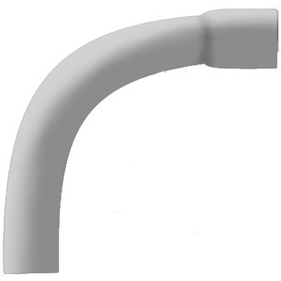 Cantex 5233930 SCH 40 90 Degree Elbow; 3 Inch, Belled, Rigid PVC