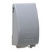 TayMac MX4280S Low Profile Expandable 1-Gang In-Use Receptacle Cover; Screw/Vertical Mount, Die-Cast Metal, Gray
