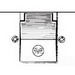 Mulberry 30505 Self-Closing 1-Gang Weatherproof Single Receptacle Cover; Device/Horizontal Mount, Die-Cast Zinc, Gray