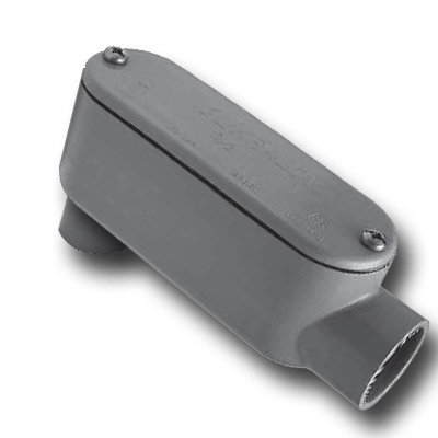 Scepter 078145 LB20 Type LB Access Fitting; 2 Inch, PVC