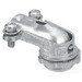 Thomas & Betts CI2210 90 Degree Cable Connector; 3/8 Inch, Zinc Alloy, Captive Screw Clamp x MNPT