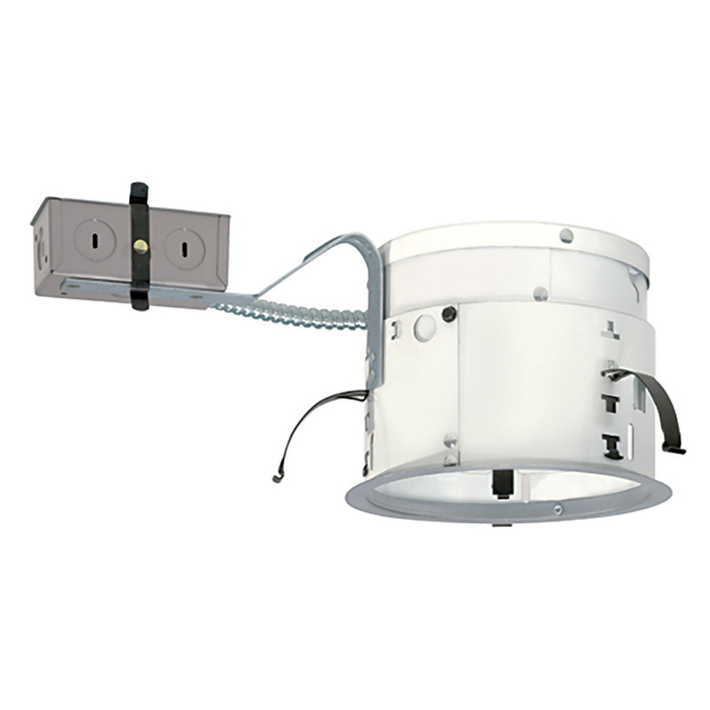 Juno Lighting TC2R 6 Inch Deluxe Universal Housing; Ceiling Mount, 13.750 Inch Length x 7.3125 Inch Width x 7.250 Inch Height