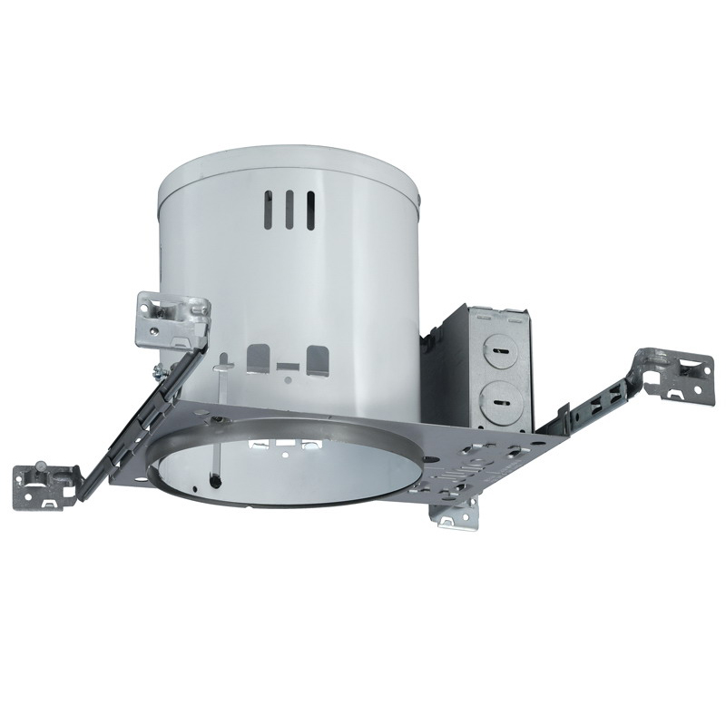 Juno Lighting TC2W 6 Inch Deluxe Universal Housing; Ceiling Mount, 13.750 Inch Length x 7.3125 Inch Width x 7.250 Inch Height