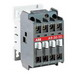 ABB A12-30-10-84 Non-Reversing AC operated IEC Contactor; 3-Pole, 3 Phase, 27 Amp At 40 deg C 690 Volt, 25 Amp At 55 deg C 690 Volt, 20 Amp At 70 deg C 690 Volt, 110 Volt Coil At 50 Hz, 110 - 120 Volt Coil At 60 Hz, DIN-Rail/Common Base Plate Mount