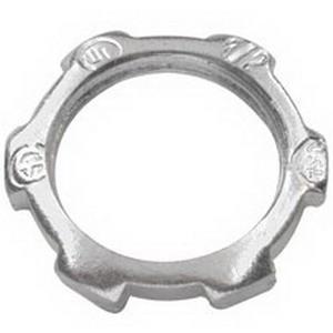 Cooper Crouse-Hinds 11-SA Conduit Locknut; 1/2 Inch, Aluminum