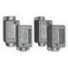 Cooper Crouse-Hinds FDCM1 Deep FDC Cast Device Box; 2.860 Inch Depth, Malleable Iron, 1/2 Inch Hub