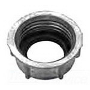 Cooper Crouse-Hinds 1034DC Non-Insulated Grounding Bushing; 1-1/4 Inch, Threaded, Die-Cast Zinc