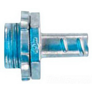 Cooper Crouse-Hinds 772DC Straight Non-Insulated Screw-In Connector; 3/4 Inch MNPT, Die-Cast Zinc, Zinc-Plated