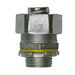 Cooper Crouse-Hinds LTQ50 LiQuik™ Straight Non-Insulated Liquidtight Connector; 1/2 Inch, Malleable Iron