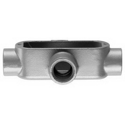 Cooper Crouse-Hinds X100M-HDG Type x Conduit Outlet Body Fitting; 1 Inch, Form 5, Malleable Iron, Threaded
