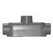 Cooper Crouse-Hinds TB25 Type TB Outlet Body; 3/4 Inch, Threaded x Set-Screw, Copper-Free Aluminum