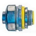 Cooper Crouse-Hinds LT50DC Straight Non-Insulated Liquidtight Connector; 1/2 Inch, Die-Cast Zinc, Natural