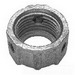 Cooper Crouse-Hinds 1031NI Non-Insulated Grounding Bushing; 1/2 Inch, Threaded, Malleable Iron