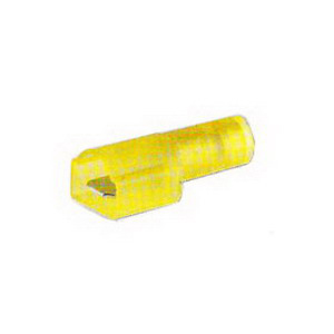 NSI IM16-250-3N Fully Insulated Male Disconnect Terminal; 16-14 AWG, 50/Pack