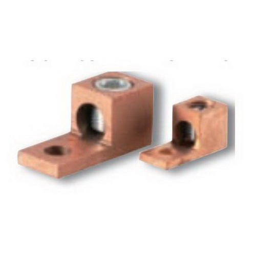 NSI 4TC Mechanical Connector Lug; 14-4 AWG, Extruded Copper
