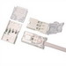 NSI NMS-2 Splice Kit; 12-14 AWG, 2-Conductor, Thermoplastic, White