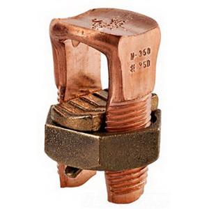 NSI N-6SP Split Bolt Connector; 14-8 AWG Stranded, 8 AWG ACSR, 600 Volt, Copper
