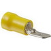 NSI M12-250-3V Male Disconnect Terminal; 12-10 AWG, 300 Volt, Yellow, 50/Pack