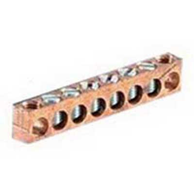 NSI 2/0-14(818) Multiple Connector; (6) 14-2/0 AWG, Aluminum