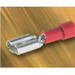 NSI M22-250-3V-S Male Disconnect Terminal; 22-18 AWG, 300 Volt, Red, 25/Pack